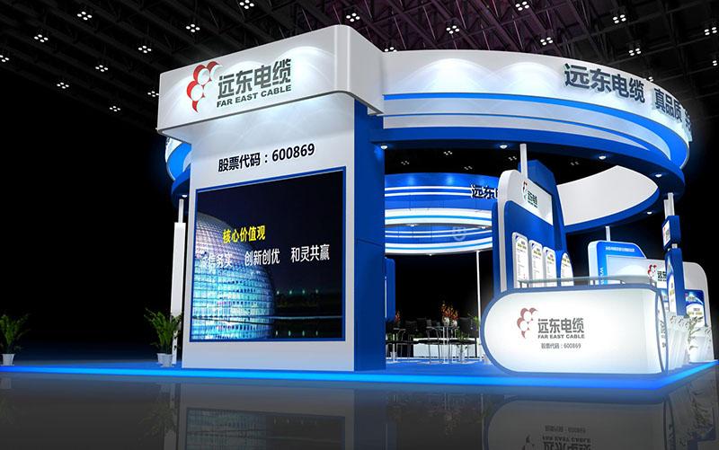太原远东电缆展会展台设计搭建